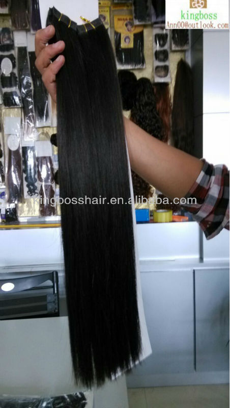 AAAA+ virgin remy peru human hair 26inch length 100g natural quality product made in china