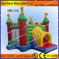 Factory supply inflatables bouncy slides
