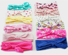 various colors print cotton knot girls <strong>headbands</strong> for baby girls, baby <strong>headband</strong>
