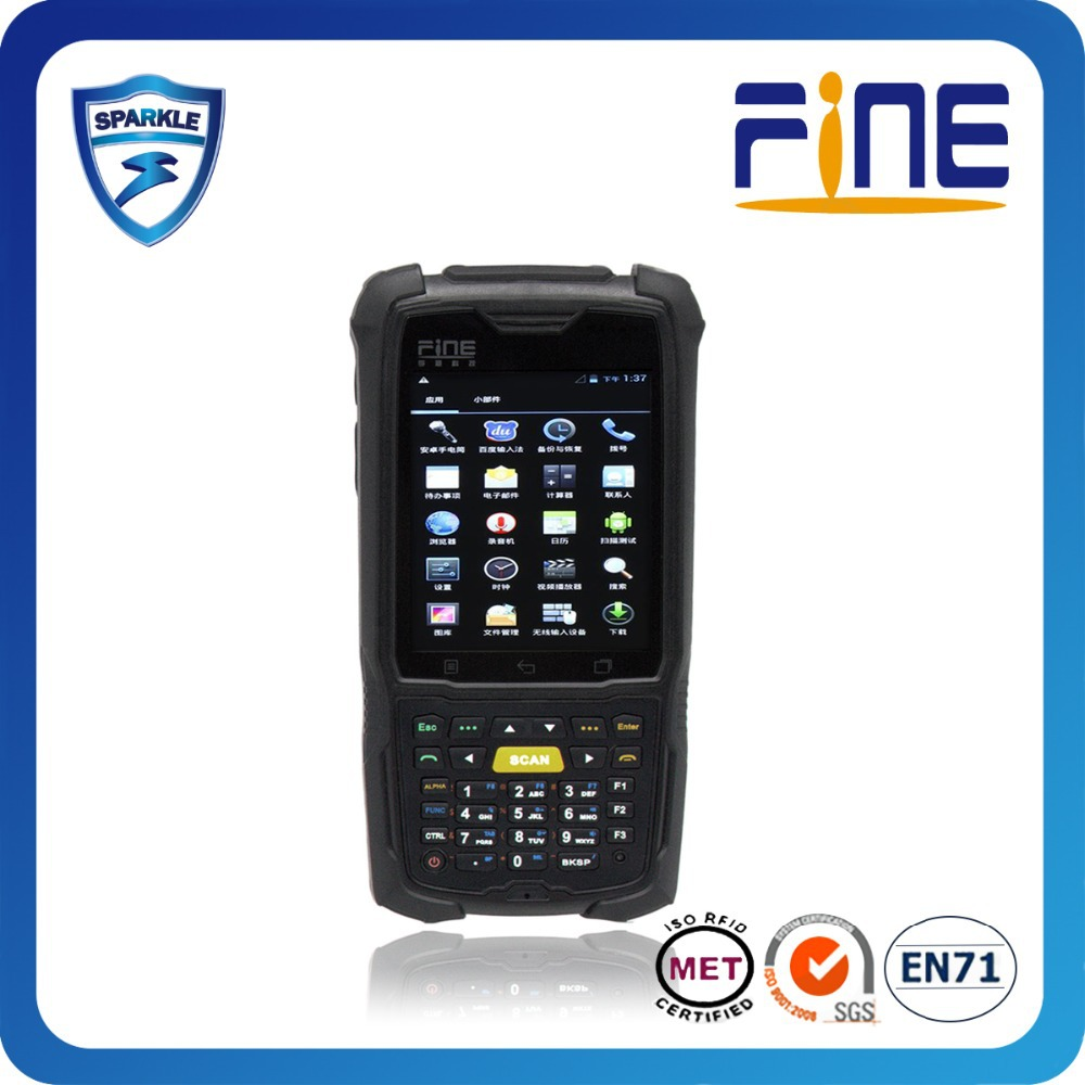 wince/android 4.0 WIFI GPS RFID PDA for book management