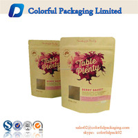 2016Hot sale! Wholesale 100g 250g 500g 1000g kraft paper bag for coffee/tea/nut