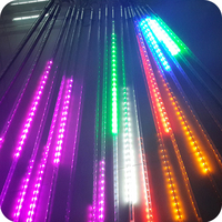 Christmas decoration SMD LED meteor rain drop string light