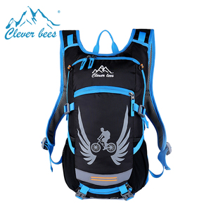 Cycling backpack outdoor hydration pack with bladder