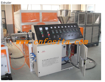 high cost performance plastic pipe extrusion line,corrugated pipe machine