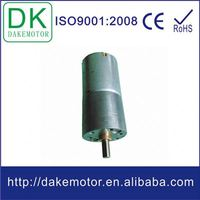 25mm 12V 24V DC gear motors to specification