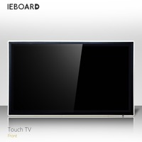 84 inch LCD interactive touch screen PC,whiteboard software, optional TV