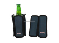 Neoprene Wine Bottle Cooler with Gel Pack