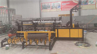 used decorative chain link fence machine for sale factory
