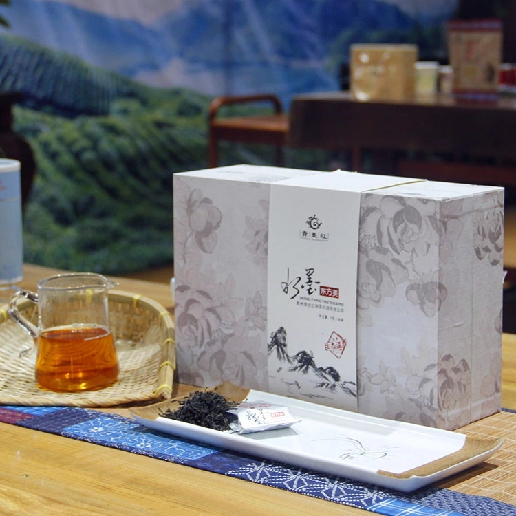 Factory direct sales best black tea with bag packing