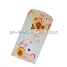 Luxury Flower Leather Flip Design Pouch Skin Bag Case Cover For Samsung Galaxy S III S3 Mini i8190