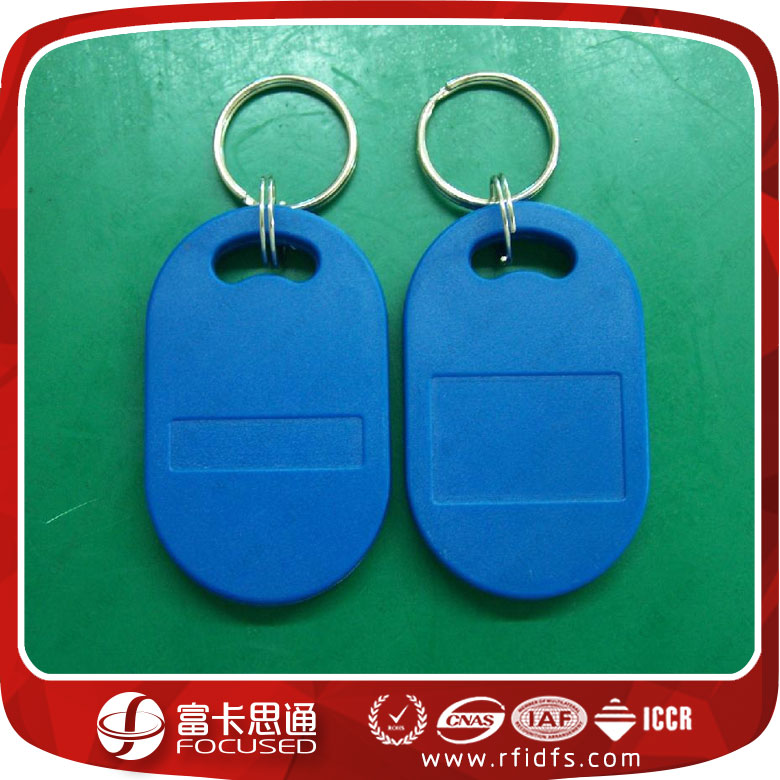 No.8 custom 125 KHz waterproof access control rfid keyfob with cheap price and Protection