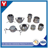 low price grooved pipe coupling clamp
