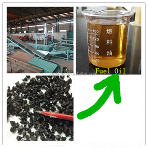semi-automatic waste tyre recycling machine line for fuel oil