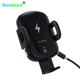 Infrared Sensor Auto holder Wireless Charger for car QI 9V 2A fast charge car mount mobile wireless charger