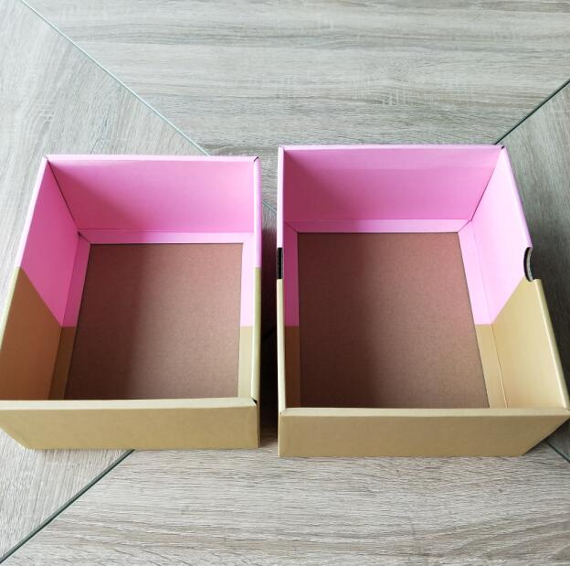 Shenzhen Manufacturers Corrugated Custom Cardboard Box For Wedding Dresses, corrugated paper box, color box printing