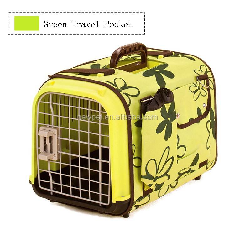 Top grade bottom price u style pet air box portable soft pet dog bag carrier with travel pocket