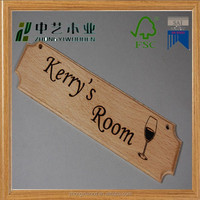 hot sell manufacturer cheap wood sign blanks