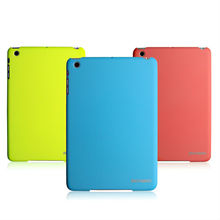 Good price colored plastic back cover for ipad mini 2 retina rubber coating case