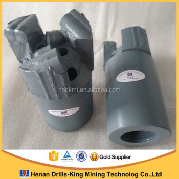 Top quality 76mm PDC non core drill bit - steel type