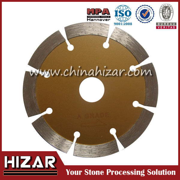 "high quality for4.5"" Diamond Circular Tiles Cutting Blade with Hizar brand or OEM service"