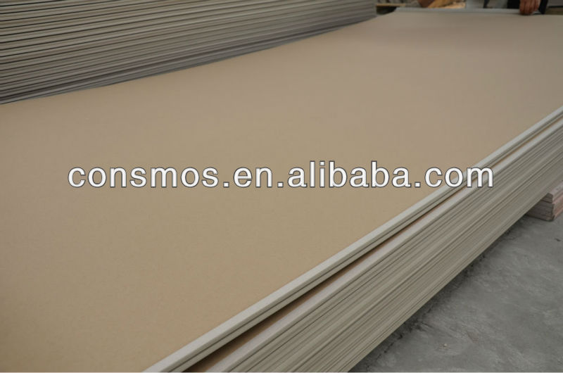 Standard size gypsum board, waterproof paper gypsum board