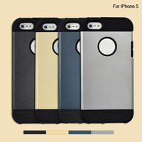 Guangzhou price cheap funny fireproof armor silicone bumper case for iphone 5 5s