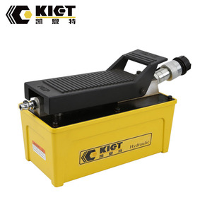 Portable small foot operated hydraulic high pressure air pump high quality