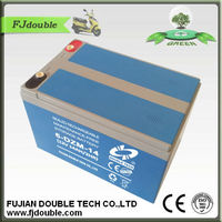 6-DZM-14 12V14ah rechargeable lead acid battery for e-bike