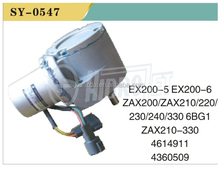 High Quality Excavator Throttle Motors EX200-5/6 ZAX200/210/220/230/240/330 6BG1 ZAX210-330 4614911 4360509