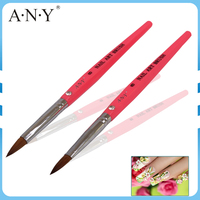 ANG High Quality Nail Art Building Product Acrylic Art Brushes Popular And Durable