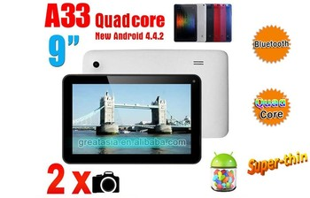 China double camera 9 inch best tablet pc E933 android 4.4.2 9 inch best tablet pc