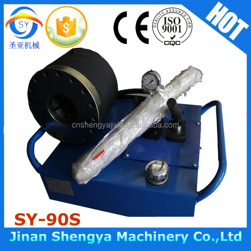 SY-90S 30kg simple easy to operate hand hose crimper