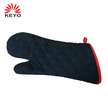 China factory KEYO new black Cooking bbq oven glove tool for barbecue lovers