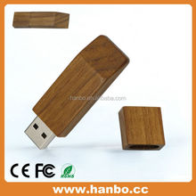Good gift set bulk 32gb wood usb stick usb wooden