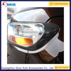 For Ford Ranger 2016 PICKUP New Head Light Lamps Trims Carbon Fiber Cover Thailand For T7 2015 Accessories