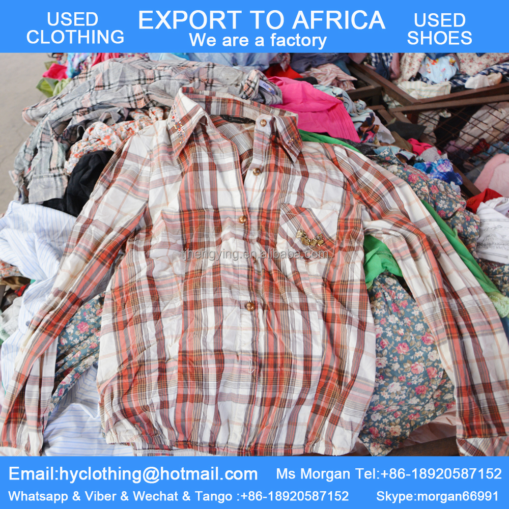 orginial second hand used clothing and shoes