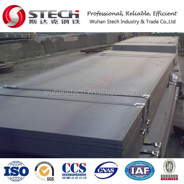 Top painted ASTM A36 Plate, A36 Low Carbon, construction Steel Plate