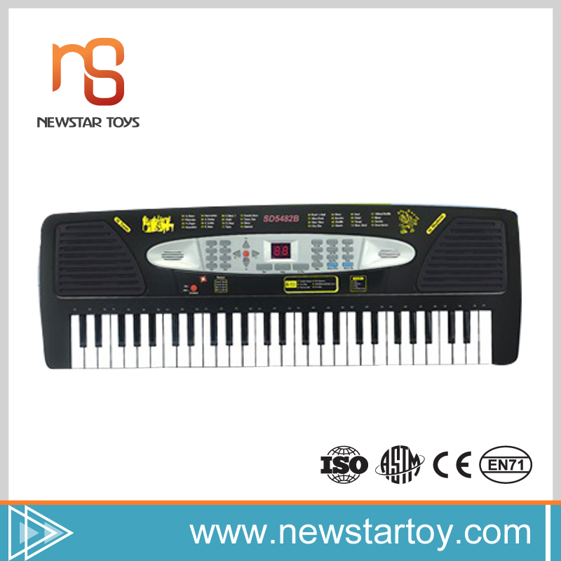 chinese popular one piece 54 keys electronic organ keyboard for sale