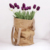 Green new concept washable Kraftpaper paper bag waterproof food packaging storage flower paper bag etc