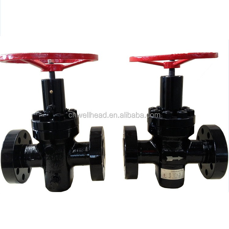 API 6A Casting Steel Expanding Gate Valve/High Pressure Flanged Connections Expansion Valve