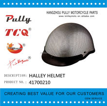 carbon Halley helmet half face beautiful motorcycle helmet