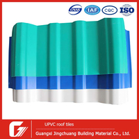 hot sale insulated panels price Building materials 4 layers thickness ASA PVC roofing for thatching