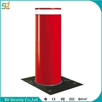 2016 security access control system automatic retractable bollards prices