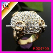 GOLD JEWELS، DIANMOND RING، RING CLUSTER