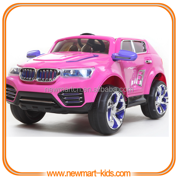 Electric Toy Cars For Girls : Deluxe purple battery operated kids electric car r c toy