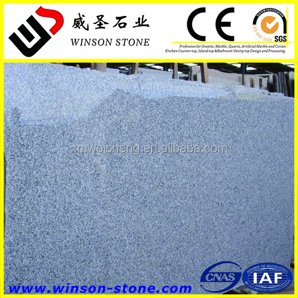 hot sale cheap chinese granite Snow Grey granite G623 for countertop vanity top flooring tile