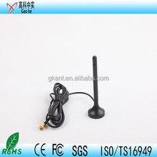 High Gain Performance Magnetic Base GSM Antenna , quad-band magnetic mount antenna