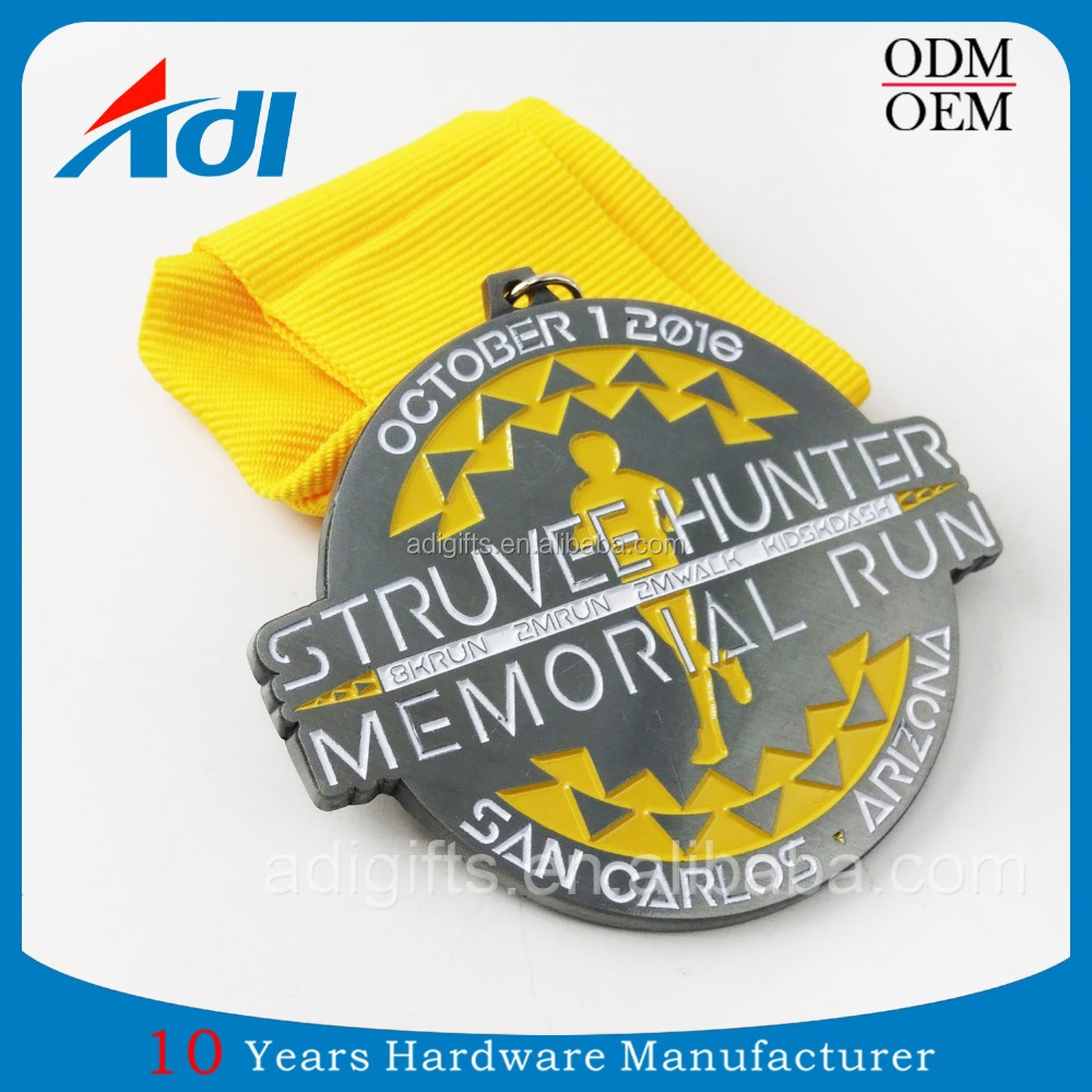 newest customized marathon sport metal medal for souvenir gifts