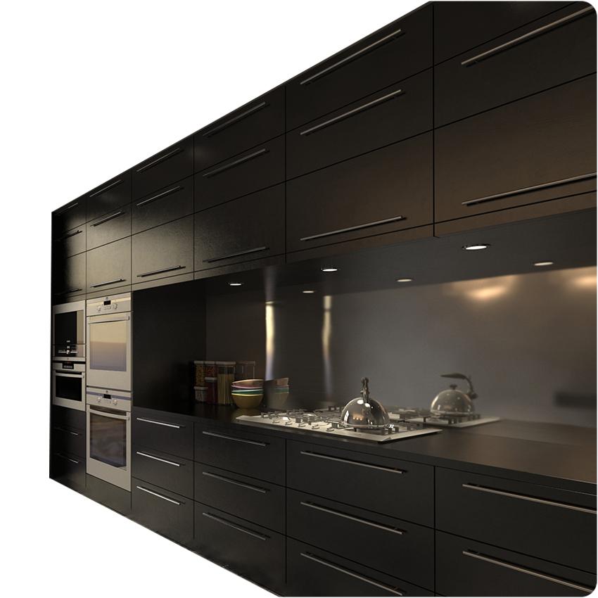 Venta al por mayor diseños de muebles para cocinas pequeñas-Compre ...