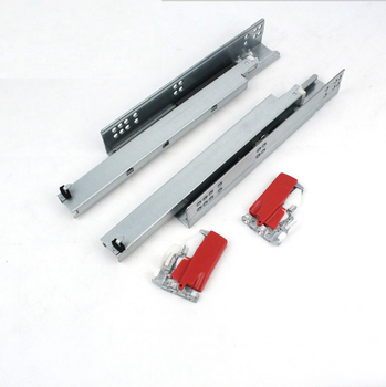 Top Sales Classic Bottom Mount Undermount soft closing drawer rail telescopic slide with clip